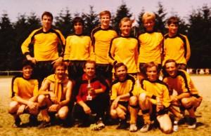 Freizeitmannschaft 1983